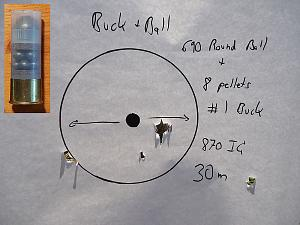 Click image for larger version.  Name:Buck_and_Ball_Lee_Slug_and_1_buck_30m_lowres.jpg Views:67 Size:56.7 KB ID:200771