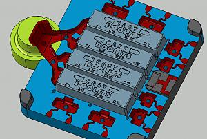 Click image for larger version.  Name:Actual ingot shown in top gate.jpg Views:77 Size:72.1 KB ID:236925