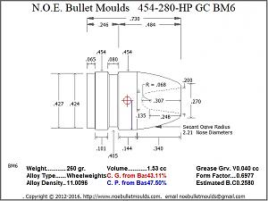 Click image for larger version.  Name:N.O.E._Bullet_Moulds_454-280-HP_GC_BM6_Sketch.Jpg Views:46 Size:144.0 KB ID:240317