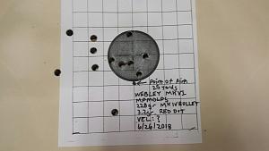 Click image for larger version.  Name:Webley MKIV Load 25 Yards.jpg Views:8 Size:29.5 KB ID:286542