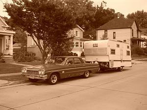Click image for larger version.  Name:1964 belair with 1967 beeline camper 004.jpg Views:103 Size:80.5 KB ID:66563