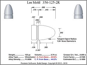 Click image for larger version.  Name:Lee_Mold_356-125-2R_125_gr_Sketch~~F~Cavity.Jpg Views:11 Size:93.0 KB ID:247461
