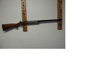 Click image for larger version.  Name:Pedersoli 12 bore rifle.jpg Views:116 Size:19.3 KB ID:252994